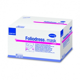 Foliodress mask Comfort loop - маски на резинках (голубые), 50 шт.